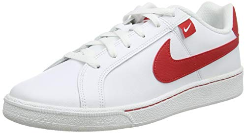 Nike Herren Court Royale Tab Tennisschuh, White University Red, 47 EU