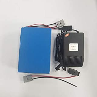 LiFePO4 24V 24AH Power Battery 5A Charger BMS Rechargeable for 500W Electric Wheelchair Bicycle Ebike Scooters