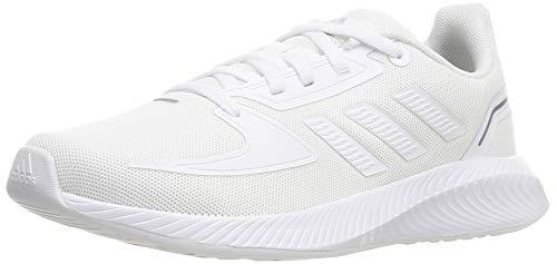 adidas RUNFALCON 2.0 K, Zapatillas de Running Unisex Adulto, FTWBLA/FTWBLA/Gritre, 39 1/3 EU