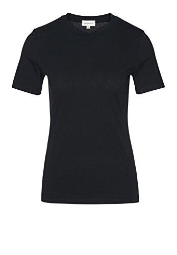 ARMEDANGELS Damen LIDAA - LIDAA - M Black 100% Baumwolle (Bio) Shirts T-Shirt Kurzarm Rundhals