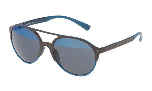 Police SPL163V55MB6H Gafas de sol, Marrón, 55 Unisex