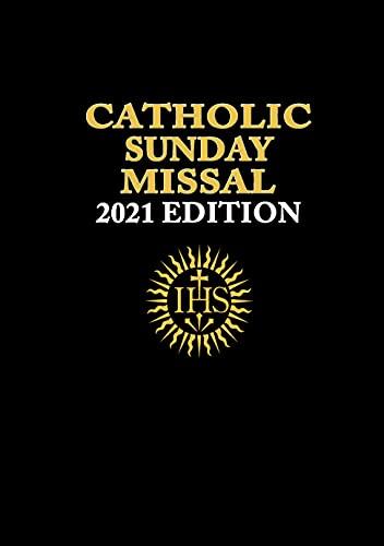 Catholic Sunday Missal 2021 Edition: (Black Cover...