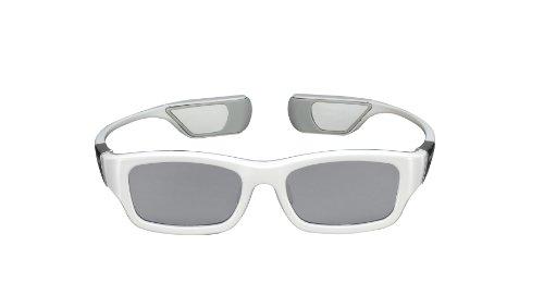 Samsung SSG-3300CR/XC wiederaufladbare 3D-Brille (nur für die Modelle der D-Serie geeignet) weiß