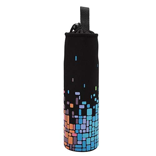 Uxsiya Funda para Botella de Almacenamiento Funda para Botella de Agua Cómodo portátil para Viajes para Uso en la Oficina