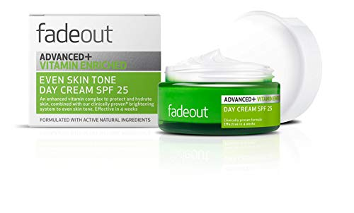 Fade Out Advanced+ Vitamin Enriched Even Skin Tone Day Cream with SPF 25 -...