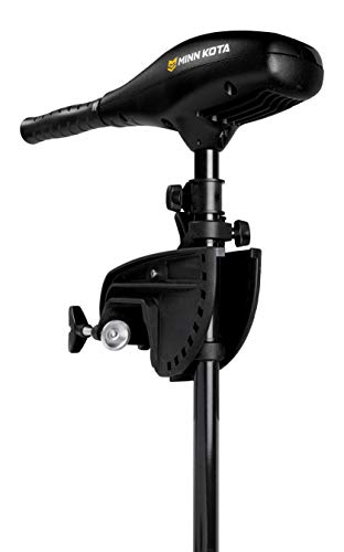 Minn Kota 1352156 Endura Max 55 Transom Mount (55-lb Thust, 42' Shaft), Black