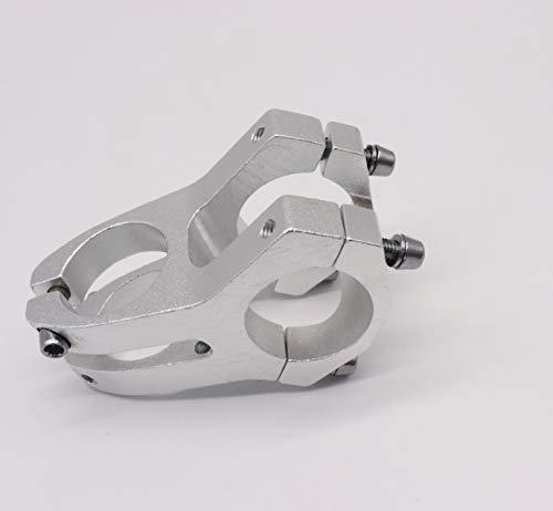 CarbonEnmy Fahrrad Vorbau Aluminium Alloy MTB Bike Lenker Vorbau 31,8 mm 40mm (Silber)