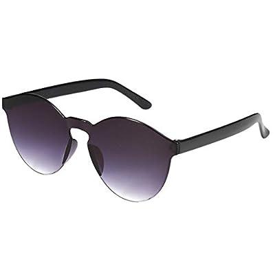 One Piece Rimless Sunglasses