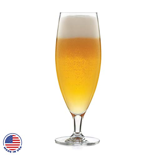 Libbey Signature Kentfield Pilsner Beer Glasses, Set of 4