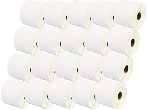 20,000 Zebra 76mm x 51mm Thermoetiketten (1000 Etiketten pro Rolle) kompatibel zu Zebra Etikettendrucker - 20 Rollen