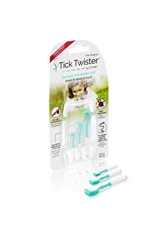 H3D Tick Twister - Juego de 3 sacrarapatas para Perro