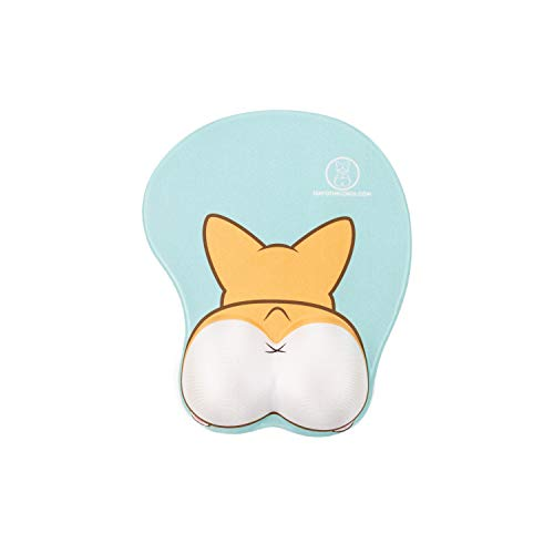 Nayo The Corgi - Mouse Pad Collection (3D Butt (2 Colors))