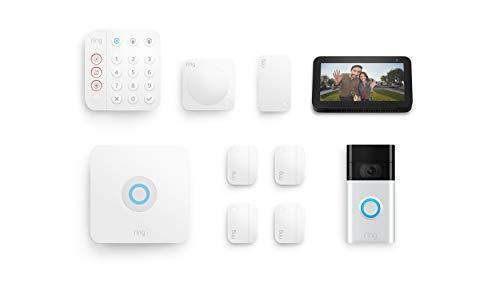 Ring Alarm 8-piece kit (2nd Gen) with Ring Video Doorbell (2nd Gen)...