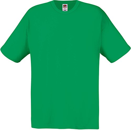 Fruit of the Loom SS022M T-Shirt, Vert Kelly, XL Homme
