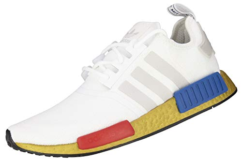 adidas NMD R1 - Zapatillas deportivas para hombre, color Blanco, talla 44 2/3 EU