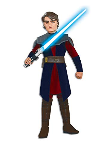 Rubies Déguisement Anakin Skywalker - Star Wars Taille : 12/14 Ans (150 à 162 cm)