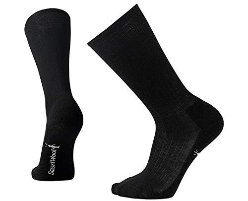 Smartwool New Classic Rib Crew Socks - Men's Medium Cushioned Merino Wool Performance Socks