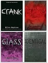 Ellen Hopkins 4 Book Set (Crank, Glass, Identical, Tricks)