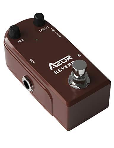 AZOR AP311 Spring Reverb Guitar Effect Pedal with True Bypass Aluminium alloy case