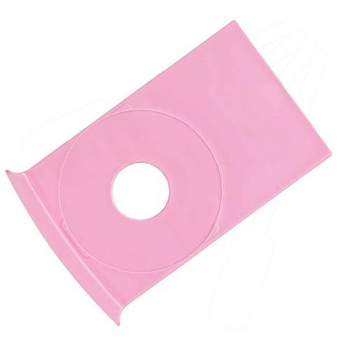 Houder voor ronde nailart stempel plaatjes/stempel sjablonen van diameter 4,7 cm, ook voor KONAD stempel producten geschikt. Werk snel en schoon bij stempelen van nagels!