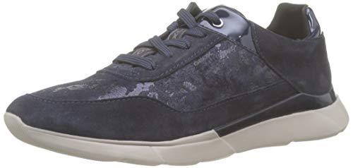 Geox Damen D Hiver A Sneaker, Blau (Navy C4002), 39 EU