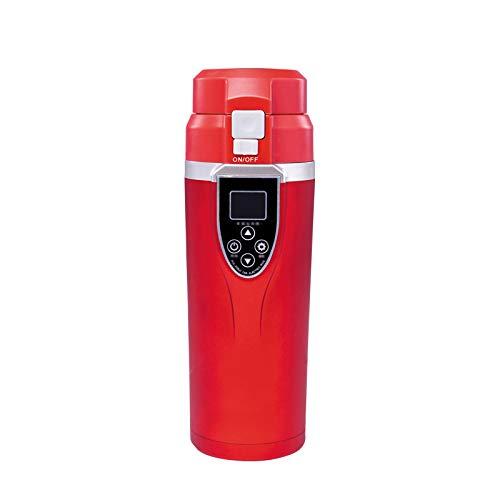Coche eléctrico taza de coche portátil de viaje eléctrico taza de calefacción 12-24v 350ml durable café té hirviendo taza hervidor de agua Accesorios auto hervidor de agua