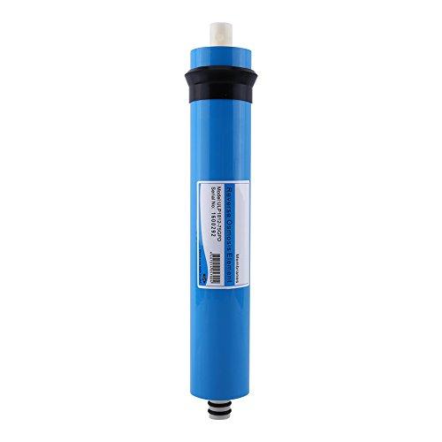 Osmose Inverse Osmose Filtre 75 GPD, membrane pour osmoseur Filtre à eau contre le calcaire, sels, nitrate, bactéries, virus et germes pour le laboratoire à la maison d'hôpital