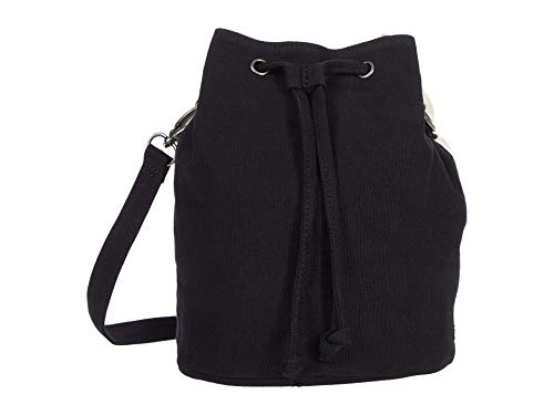RVCA Split Up Drawstring Purse Black 1SZ