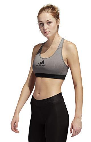 adidas Don't Rest Alphaskin Sport-BH grau - XL