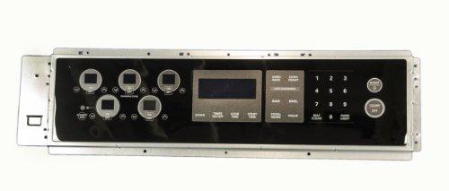 LG Electronics 383EW1N006N Electric Range Touchpad and Control Panel, Black