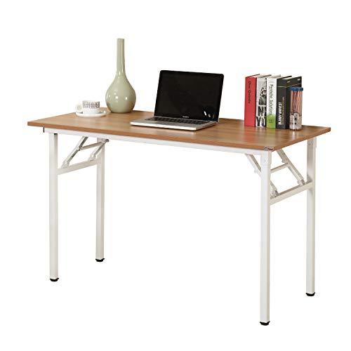 sogesfurniture Schreibtisch Klapptisch 100x60cm Computertisch Büromöbel PC Tisch, Stabil...
