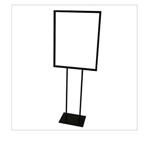 Floor Standing Poster Display Stand Sign Holder 22' X 28' Black