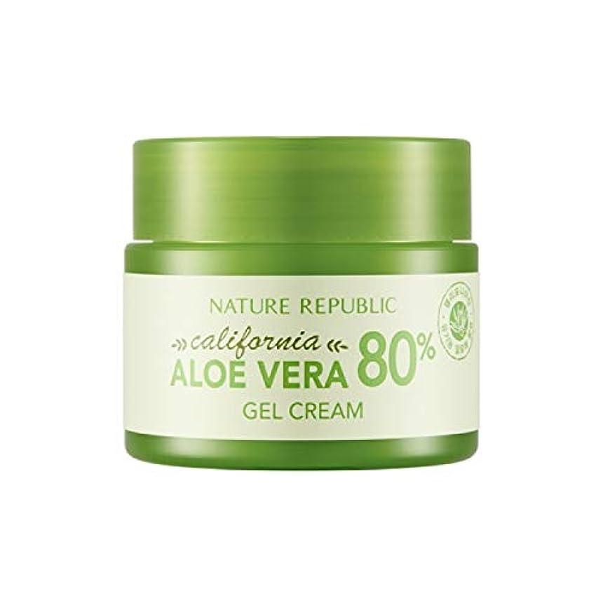 懲らしめ部分的にほこりっぽいネイチャーリパブリック(Nature Republic)カリフォルニアアロエベラ80%ジェルクリーム 50ml / California Aloe Vera 80% Gel Cream 50ml :: 韓国コスメ [並行輸入品]