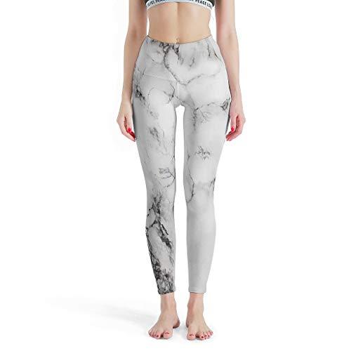 Leggings de tinta para mujer, pantalones de pilates suaves, pantalones de yoga para fitness, color blanco