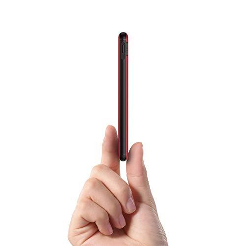 Ockered Powerbank 10000mAh,Caricatore portatile di grande capacità,Applicabile a iPhine, Samsung, Huawei e alla maggior parte delle batterie esterne per power bank(rosso)