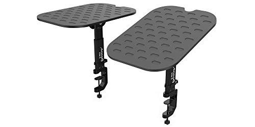 Audibax NEO STM-5 | 2 supporti monitor | Rialzo da tavolo | Supporto da tavolo regolabile | per altoparlanti da studio | Durata | Regolabile per posizione ottimale | Riduce le vibrazioni fastidiose