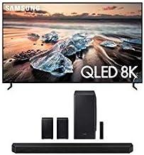 "Samsung QN55Q900RB 55"" 8K Ultra High Definition Smart QLED TV with a Samsung HW-Q950T 9.1.4 Channel Soundbar with Dolby At..."