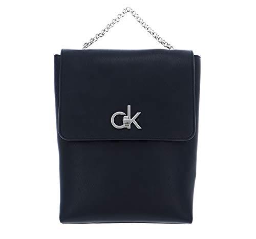 Calvin Klein Damen RE-LOCK Rucksäcke, Schwarz, OS