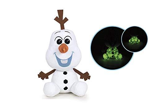 Famosa Softies - Peluche infantil Frozen 2 Olaf, 25 cm, Multicolor, (Famosa 760017923)