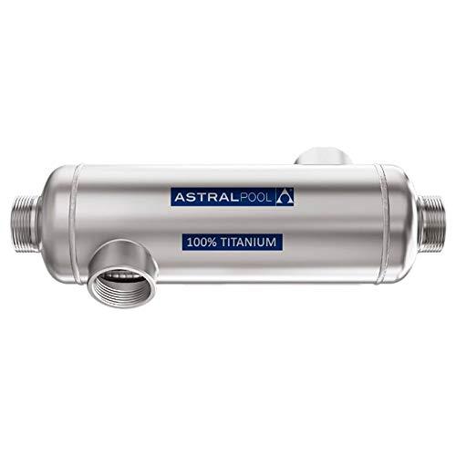 Fluidra INTERCAMBIADOR DE Calor Tubular Agua-Agua INOX-Titan