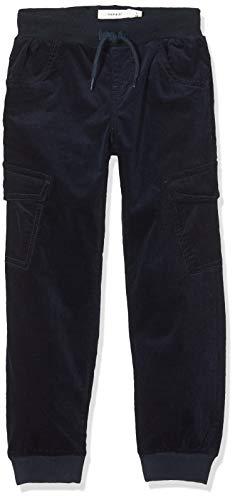 NAME IT Jungen NMMBOB CORDBAD Cargo Pant BP Hose, Blau (Dark Sapphire Dark Sapphire), (Herstellergröße:104)