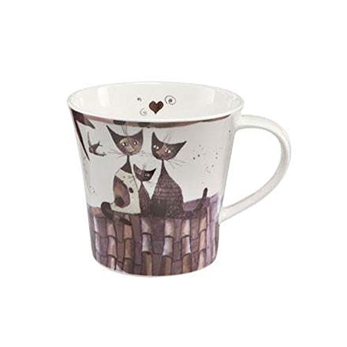 Goebel Virgola e SUA famiglia - Coffee-/Tea Mug Rosina Wachtmeister Exklusiv-Editionen Bunt Fine Bone China 66860341