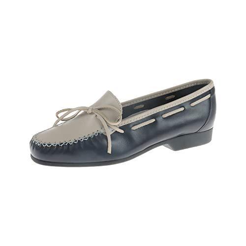 Luxat Jorda Marine Blanc Casse 36630250103 - Zapatos para Mujer, Color Azul, Talla 37 EU