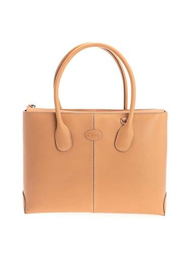 Tod's Luxury Fashion Damen XBWDBAA0300SU0C604 Beige Leder Handtaschen | Frühling Sommer 20
