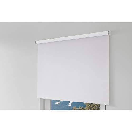 erfal® Rollo SmartControl Powered by Homematic IP_inkl. Ladegerät_Verdunkelung, Weiss (B 160 x H 230 cm)