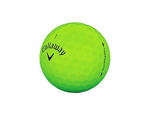 Callaway Golf Supersoft Golf Balls (Matte Green)