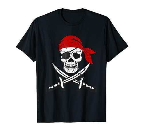 Camiseta pirata para niños o adultos,...