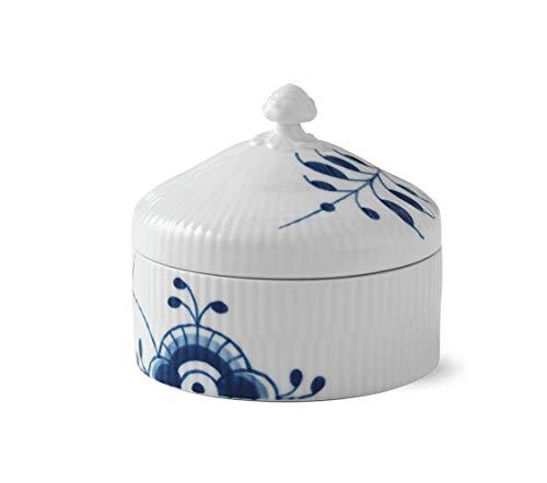 Royal Copenhagen 1016880 Blue Fluted Bonbonniere, Porzellan