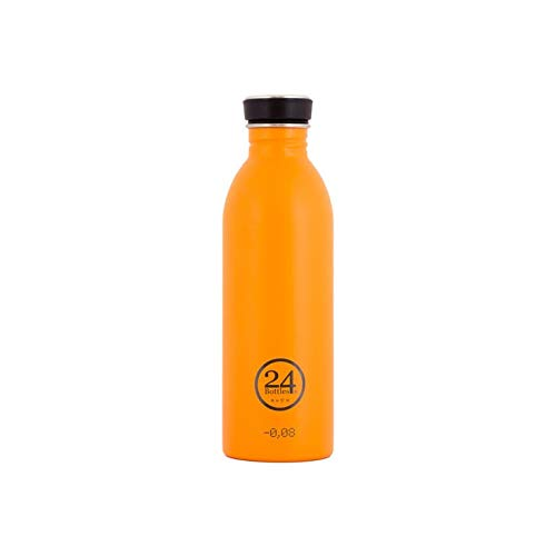 24Bottles Urban 24 Bottles Bidon de Acero Inoxidable Color Naranja 500ml, Unisex...