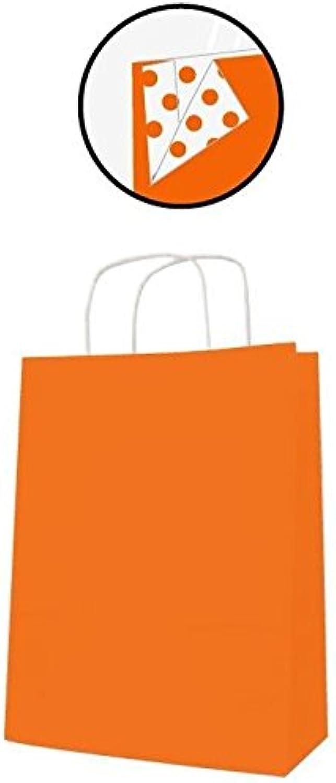 Agipa PAQ 50 Staubsaugerbeutel 35 x 16 x 40 Kraftpapier Orange B01G7HI8YO   Kunde zuerst